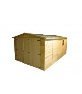 Garaje de madera Mikhail 300x500x222/192